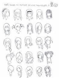 anime hairstyles by xdaixchibix on deviantart anime hairstyles