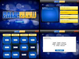 powerpoint quiz show template trivia time game show template