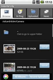 picasa android picasa tool colorful free android app android freeware
