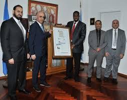 emirates bureau emirates post honours upu international bureau post parcel