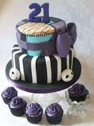 nightmare before christmas ribbon birthday cakes images scary nightmare before christmas birthday