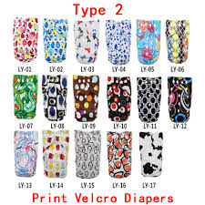 10pieces diapers cover 10 piece insert 5 types can be choosed