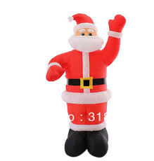 Inflatable Christmas Decorations Outdoor Cheap - cheap inflatable santa claus find inflatable santa claus deals on