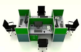 Modern Workstation Desk by Furniture Office Modular Furniture Modern Rooms Colorful Design