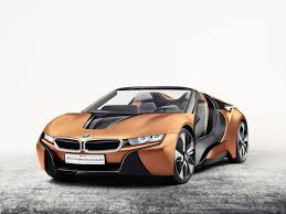 bmw concept car bmw unveils tech packed i8 spyder concept at ces 2016