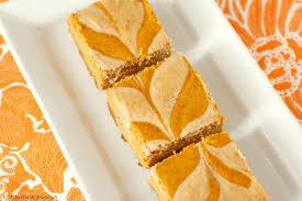 Gingersnap Pumpkin Cheesecake by Chai Spiced Pumpkin Cheesecake Bars A Kitchen Addiction
