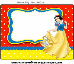 free printable snow white invitations printable invitations