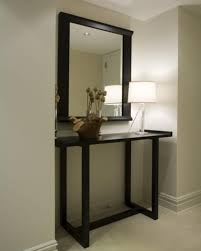 Black Entryway Table Entryway Table With Mirror Narrow Black Entryway Console Table