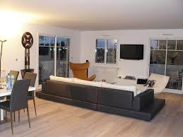 salon avec canapé noir salon avec canape noir maison design wiblia com