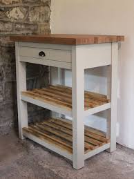 brecon butchers block kitchen island with oak top powell