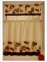 furniture coffee themed kitchen curtains and the towel decor
