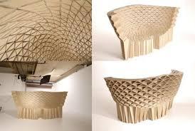 arredo in cartone bravais e radiolarian i mobili in cartone ispirati alla natura ecoo