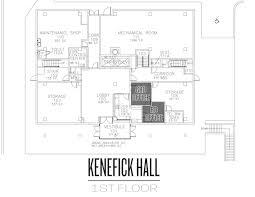 Mechanical Floor Plan Kenefick 360 Residential Life And Housing Creighton University