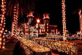 st augustine lights tour it s here get ready for saint augustine s always dazzling nights