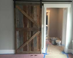 Barn Door Room Divider Hickory Mission Style Barn Door Room Dividers Made To Order