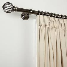 Shower Curtain Wire Buy John Lewis Pewter Wire Ball Curtain Pole Kit Dia 28mm John