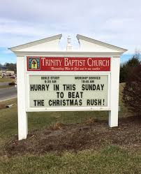 church signs for for