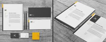 Business Cards And Headed Paper 10 Business Letterhead Design Tips With Killer Brand Identity