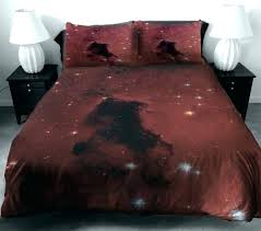 Quilted Duvet Cover King Dark Duvet Covers Red Galaxy Bedding Queen Bedroom Decorating