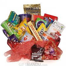 send gift basket chocolate gift basket combo send gifts to nepal birthday gifts