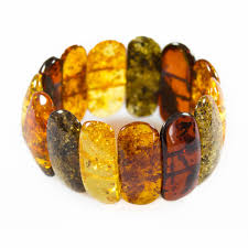 natural amber bracelet images Big multicolored natural amber bracelet bijoux d 39 ambre jpg