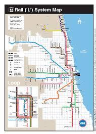 cta line map the transit tourist chicago ill for cta blue line map cta blue