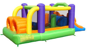 bounceland inflatable obstacle pro racer bounce house u0026 reviews