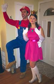 mario and princess peach halloween costume idea halloween