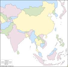 Blank Map Of Central Asia by Blank East Asia Map Roundtripticket Me