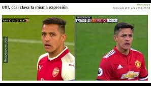 Tottenham Memes - memes a alexis s磧nchez tras derrota del manchester united ante