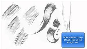 drawing u0026 shading hair using hatching technique basics tutorial