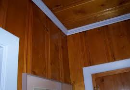 interior u0026 architecture sleek painting knotty pine paneling for