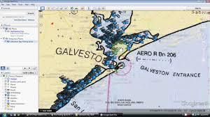 map of galveston galveston bay fishing map