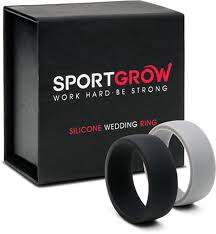 Silicone Wedding Ring by Silicone Wedding Band Ring Rubber Rings For Man And Woman By