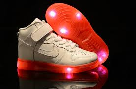 shoes that light up on the bottom nike cute nike dunk dark pacman glow in the kids light up shoes for nike