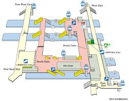 shinagawa station map jr east guide maps for major stations osaki station