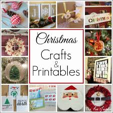the pin junkie christmas crafts and printables