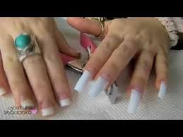 acrylic nails how to do your own acrylic nails at home youtube