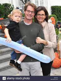 kyle maclachlan and desiree gruber with their son callum
