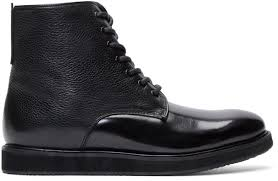 buy boots sweden tiger of sweden black leather charly 11 boots where to buy how