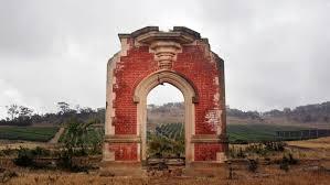 Wedding Arches Tasmania Historic Doorways Stand In Ruins As Markers In Tasmanian History U0027s