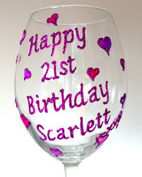 birthday wine personalised 40th birthday gift little hearts design birthday