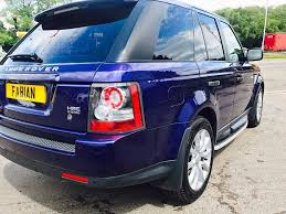 range rover sport blue used blue land rover range rover sport for sale swansea