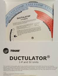buy trane ductulator online at brown technical book shop