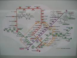 Singapore Mrt Map Singapore Mrt Map With Circle Line Stages I Ii Photo Page