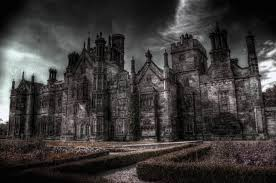 gothic halloween background dark castle wallpapers group 70