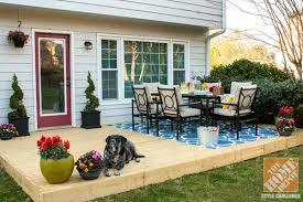 unique backyard patio decor small patio decorating ideas kelly of