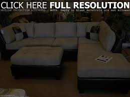 Klaussner Fletcher Sectional Sectional Sofa With Chaise Lounge Microfiber Tehranmix Decoration