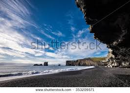 black sand beach stock images royalty free images u0026 vectors