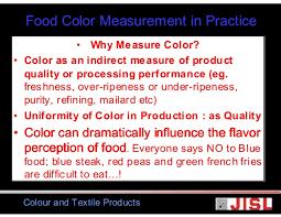 food color measurement jisl